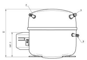 Good Quality Refrigeration R134A Compressor Qd150h pictures & photos