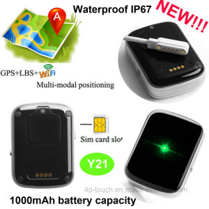 IP67waterproof Newest Personal Mini GPS Tracker with Sos Alarm Y21 pictures & photos