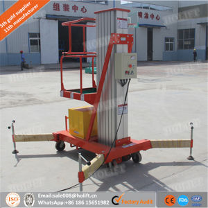 Best Price Mobile Single Mast Aluminum Lift pictures & photos