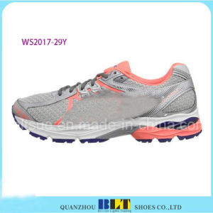 Blt Women′s Athletic Lace-up Walking Style Sport Shoes pictures & photos