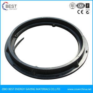 Round 600 mm A15 Rubber Heavy Duty Manhole Cover with Gasket pictures & photos