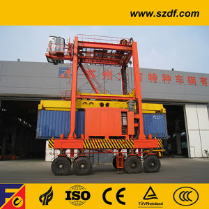 Stacking Container Straddle Carrier /Rubber Tyre Port Lifting Gantry Crane pictures & photos