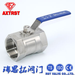 Stainless Steel 1000psi CF8m 1PC Ball Valve pictures & photos