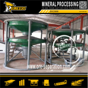 Mineral Separation Beach Placer Gold Tin Tungsten Ore Cone Separator pictures & photos