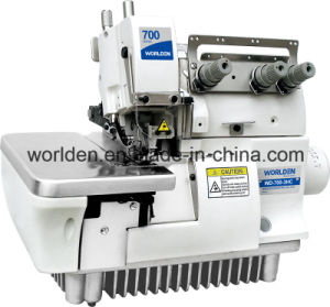 WD-700-3HC Three Thread Overlock for Handkerchief Sewing Machine pictures & photos