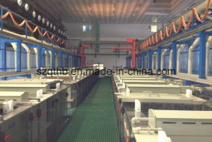 Aluminum Oxidation Plating Production Line for Camera Shell