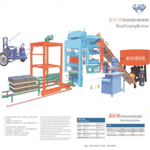 Best Sand Cement Automatic Brick Making Machine Concrete Block Making Machine Paver Block Machine pictures & photos