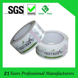 BOPP Logo Printing Adhesive Tape (KD-0365) pictures & photos