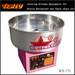 High Quality Automatic Commercial Candy Floss Machine with Musice (WY-771)