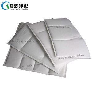 F5/F6/F7 Nonwoven Synthetic Media High Loft Pocket Filter (Media) pictures & photos