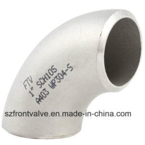 Stainless Steel 304/316 Seamless Bw 90 Degree Elbow pictures & photos