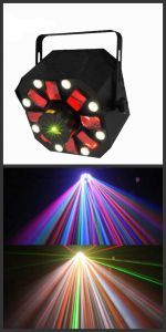 Professional Stage Lighting Laser and LED Effect Light