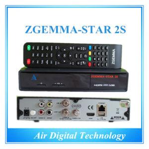 Original Zgemma-Star 2s Twin Tuner DVB-S2+S2 Satellite Receiver Original Support pictures & photos