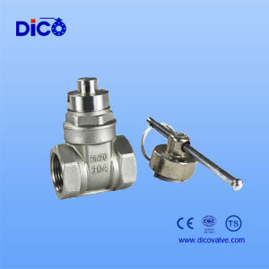 Heavy Type Gate Valve with Lock pictures & photos