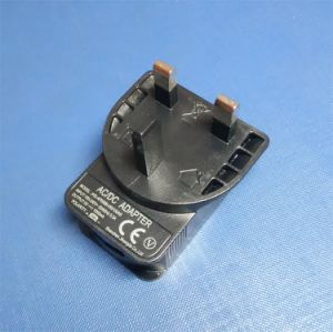 UK USB Power Adaptor DC 5V-1A pictures & photos