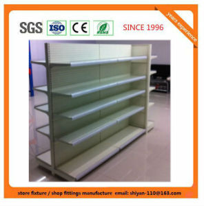 Metal Supermarket Shelf Store Retail Fixture for Aruba 08159