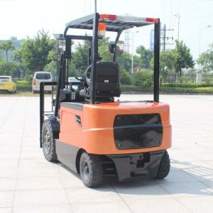 Ce Approved Red 3t Electric Forklift Truck with Best Price for Sale (CPD30) pictures & photos