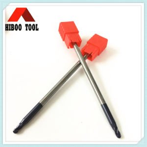 HRC55 Tungsten Carbide Long Ball Nose Milling Cutter pictures & photos