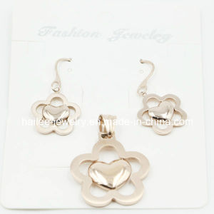 Fashion Flower Charm Pendant Set Jewelry for Gift pictures & photos