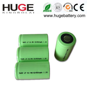 1.2V Sc 4500mAh Ni-Mmh Rechargeable Battery (SC) pictures & photos