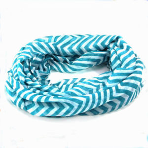 China Factory Hot Sale Stripes Fashion Women Muslim Scarf pictures & photos
