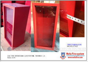 10lbs ABC Extinguisher Cabinet with Glass Door pictures & photos
