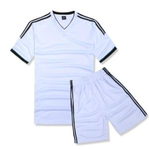 Bulk Striped Soccer Jerseys Football Shirt pictures & photos