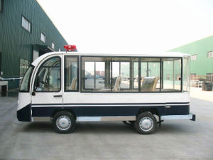 China Electric Mini Bus/Car Electric Tram for Sale with Aluminum Hard Door, Eg6088kf pictures & photos