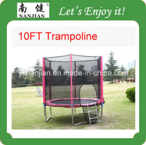 10 Ft Trampoline Bed for Outdoor with GS CE Certificates pictures & photos