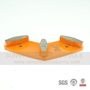 Arc Shape Diamonnd Gringind Pad pictures & photos