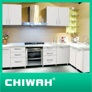 Melamine MDF Finishing Kitchen Cabinet pictures & photos