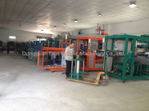 Automatic Plastic Cup Lids Vacuum Thermo Forming Machine with Good Quality pictures & photos