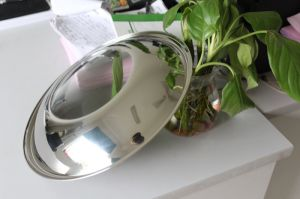 Version with Glass Window Cooking Pot Lid pictures & photos