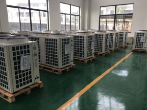 75kw Air Source Heat Pump Water Heater for 55~60 Deg C Hot Water pictures & photos