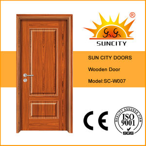 Hot Sale MDF/HDF Hollow Interior Wood Door (SC-W007) pictures & photos