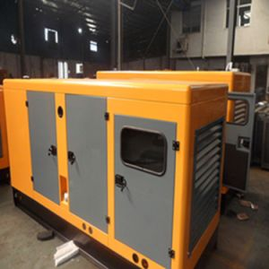 Low Fuel Consumption 25kVA Small Silent Water Cooled Diesel Generator pictures & photos
