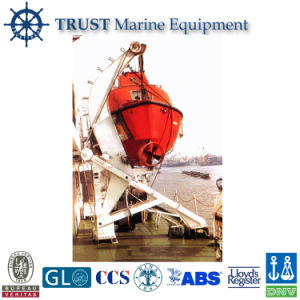 Hot Sale Gravity Rolling Type of Lifeboat Davit pictures & photos