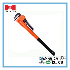 High Quality Workshop Adjustable Pipe Wrench pictures & photos