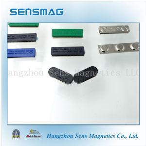 Manufacture Customized NdFeB Magnet Magnetic Name Badge with Different Colors pictures & photos