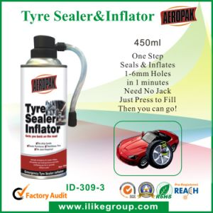 Aeropak Fast Fix Tyre Puncture Seal Inflator pictures & photos