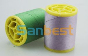 Spun Polyester Sewing Thread on Small Reels, 1000m pictures & photos