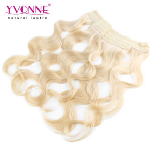 Brazilian Blond Flip in Hair Extension pictures & photos
