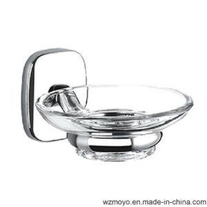 Bathroom Zinc Soap Holder Plus Glass Dish pictures & photos