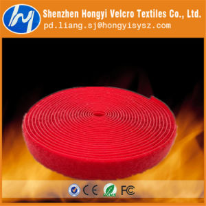 SGS Certified Customized Flame Retardant Hook & Loop Velcro pictures & photos