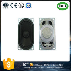 8ohm Stereo Cara Mini Rectangular Loudspeaker pictures & photos