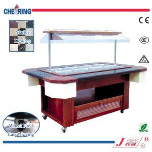 Marble Type Salad Bar (SBU2150) pictures & photos