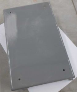 White Color Power Coating Services Samples
