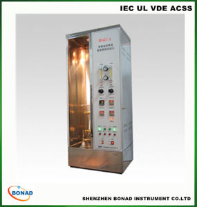 Single Wire or Cable Vertical Burning Test Equipment pictures & photos