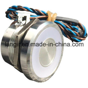 IP68 Waterproof Latching Stainless Steel Crust 25mm Capacitive Switch pictures & photos
