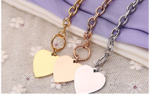 Fashion Stainless Steel Jewelry Bracelets Ladies Heart Bracelets (hdx1063) pictures & photos